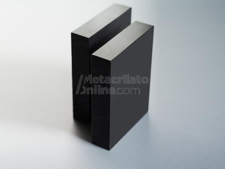 Plancha de polietileno negro