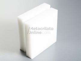 Plancha de Polietileno blanco