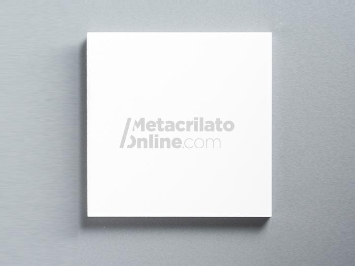 Plancha de metacrilato/plexiglas Blanco Opaco