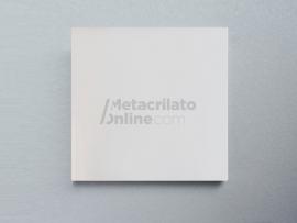 Plancha de metacrilato opal hielo