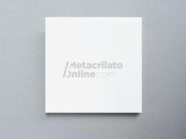 Plancha de metacrilato opal blanco